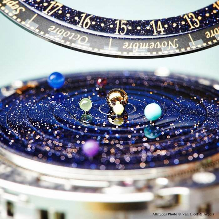 Часы Midnight Planétarium Poetic Complication