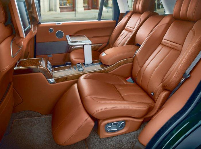 Эксклюзивный Range Rover для охотников