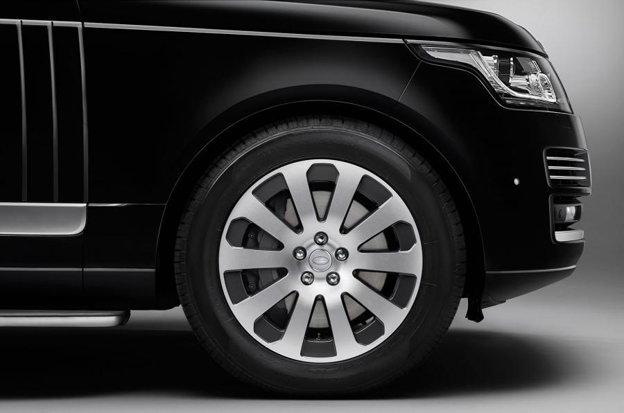 Бронированный Range Rover Sentinel
