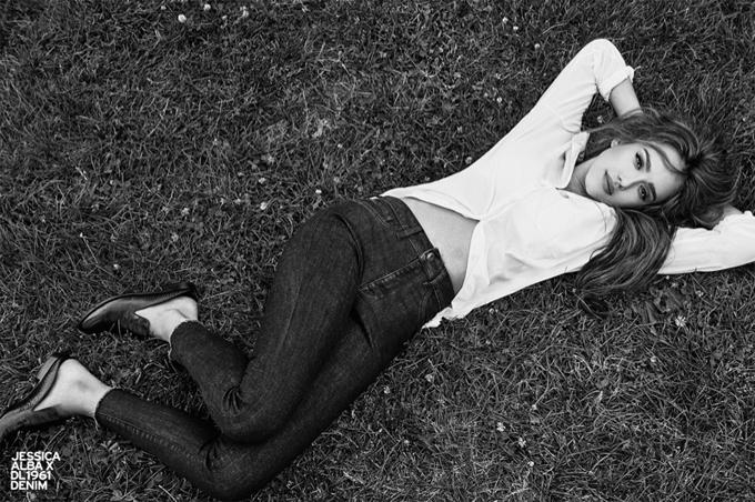 Jessica Alba DL1961 Jeans Fall Winter 1