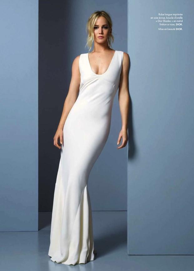 Дженнифер Лоренс для Elle France