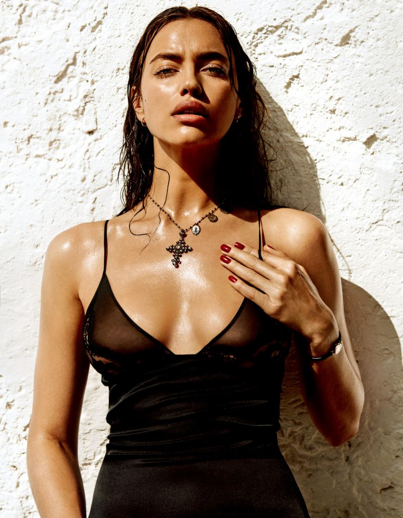 irina shayk smouldering shoot italy vogue japan 17