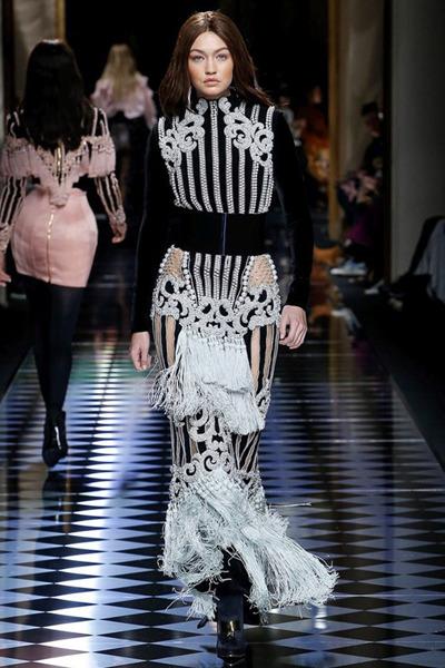 nedelya mody v parizhe shou balmain 13