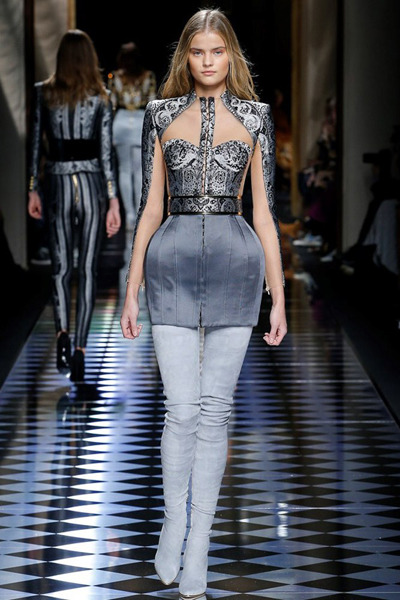 nedelya mody v parizhe shou balmain 15