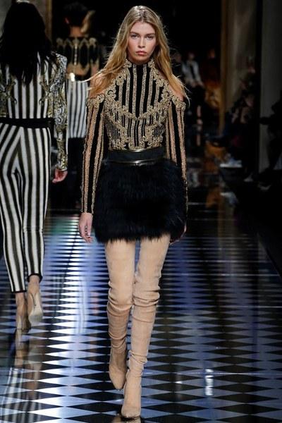 nedelya mody v parizhe shou balmain 18
