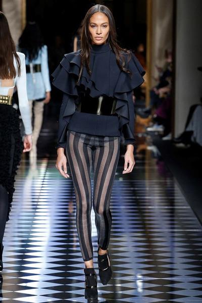 nedelya mody v parizhe shou balmain 8