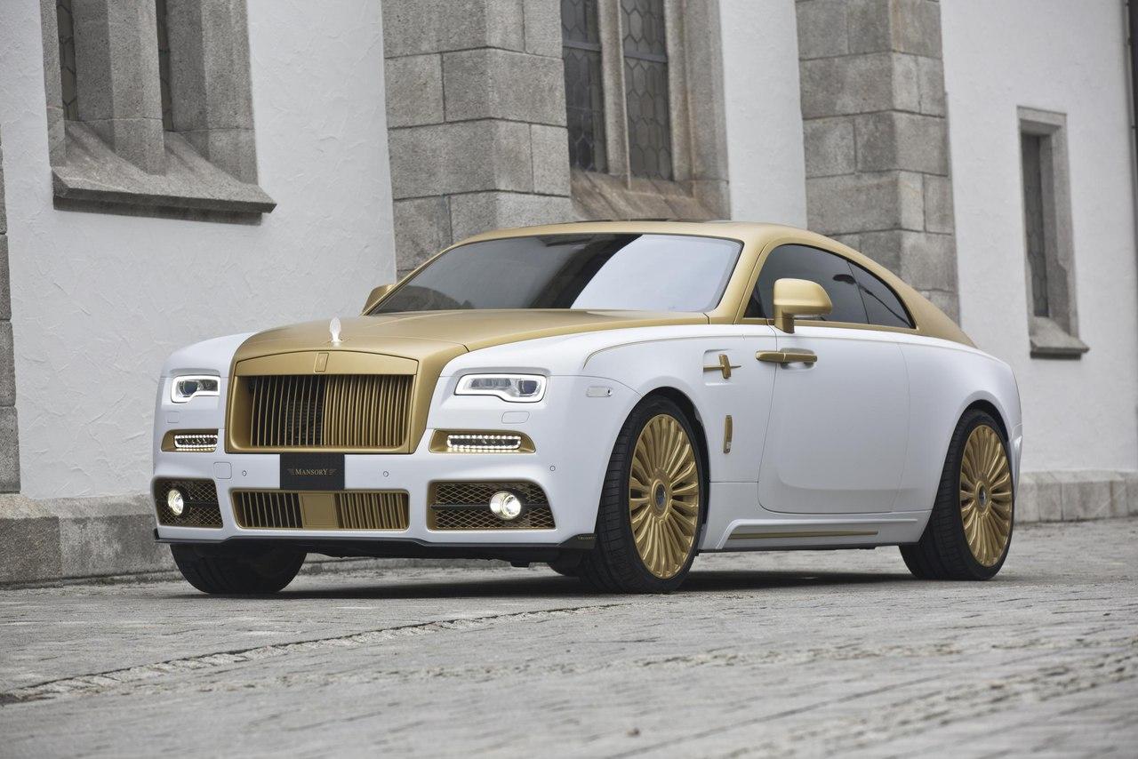 Mansory Rolls Royce Wraith 1