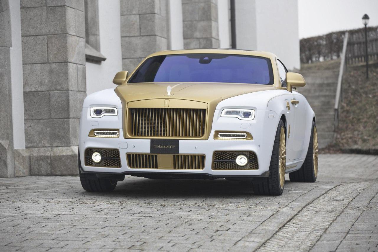 Mansory Rolls Royce Wraith 2