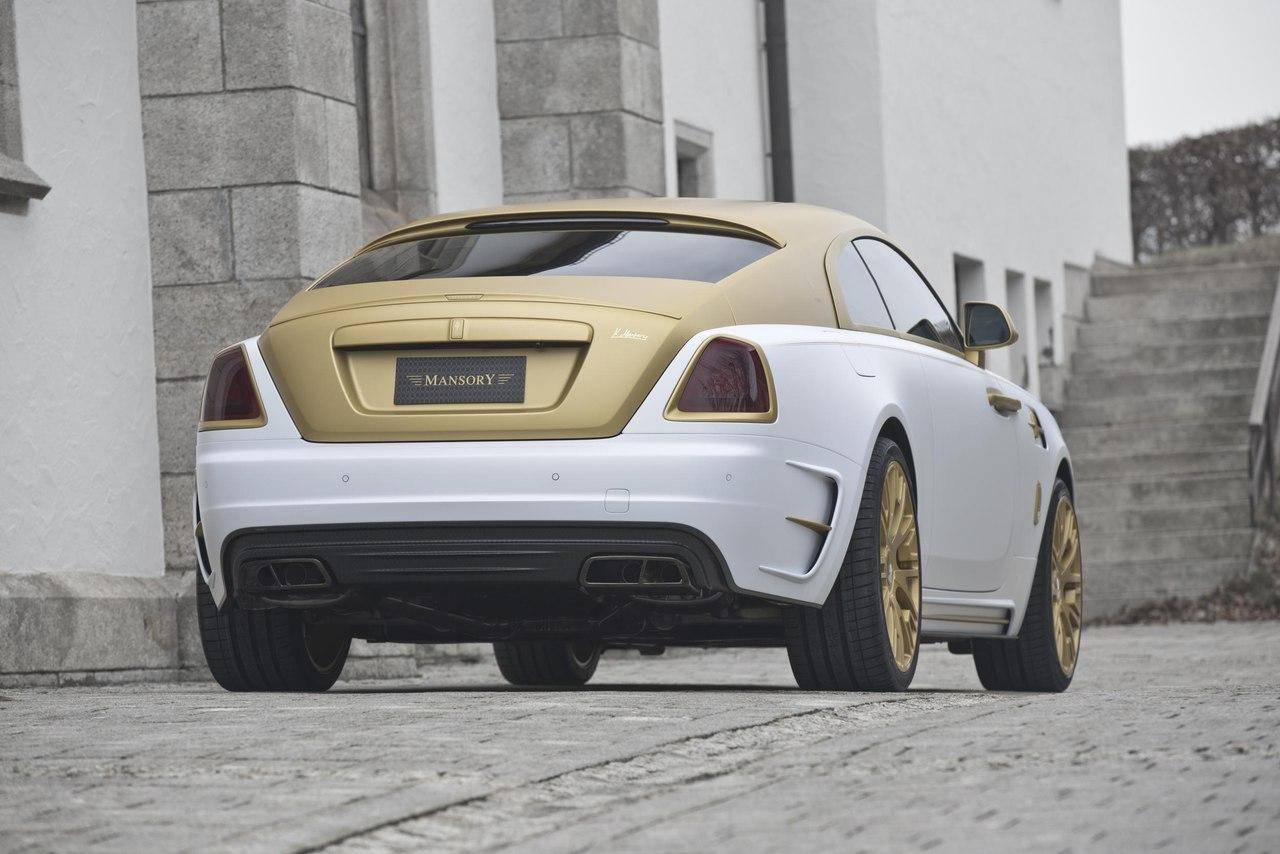 Mansory Rolls Royce Wraith 3