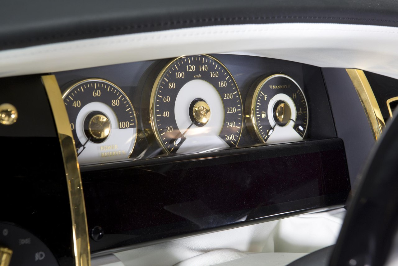 Mansory Rolls Royce Wraith 8