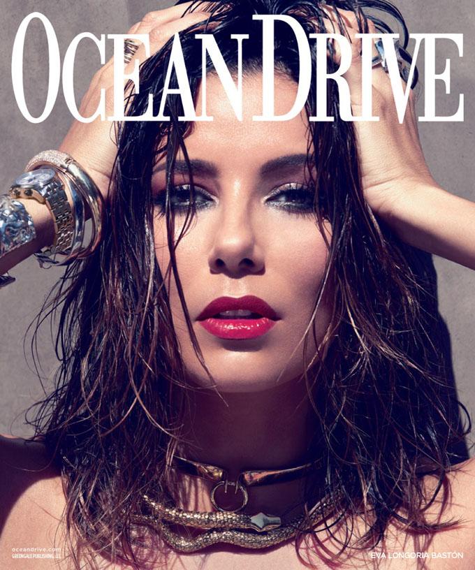 Eva Longoria Ocean Drive 6
