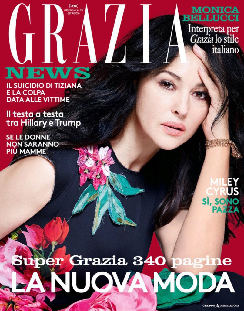 Grazia Italia Monica Bellucci 3