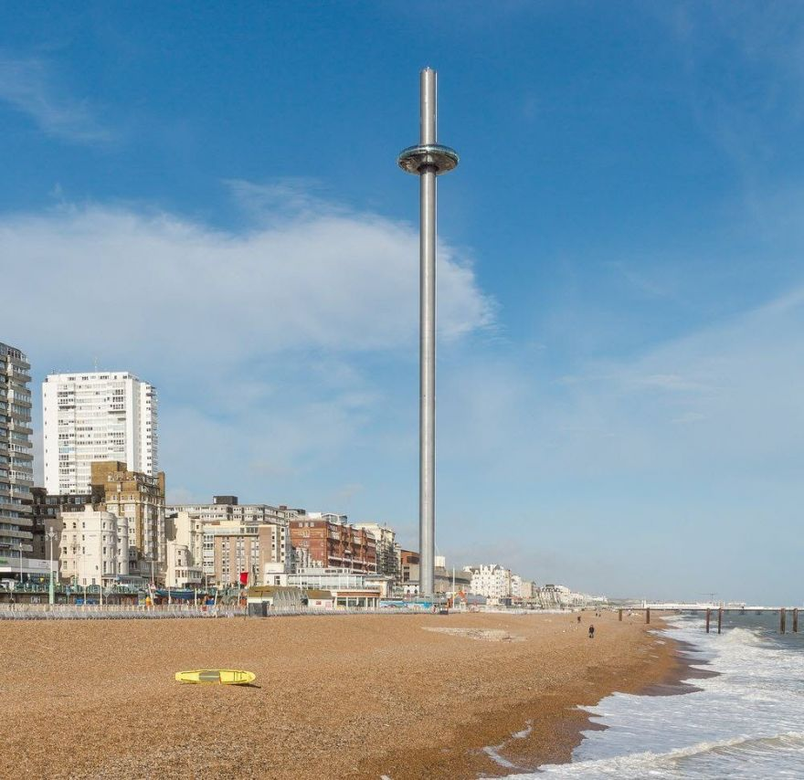 smotrovaya bashnya the british airways i360 2