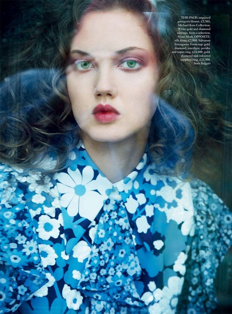 Lindsey Wixson Harpers Bazaar 12
