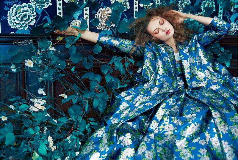 Lindsey Wixson Harpers Bazaar 4