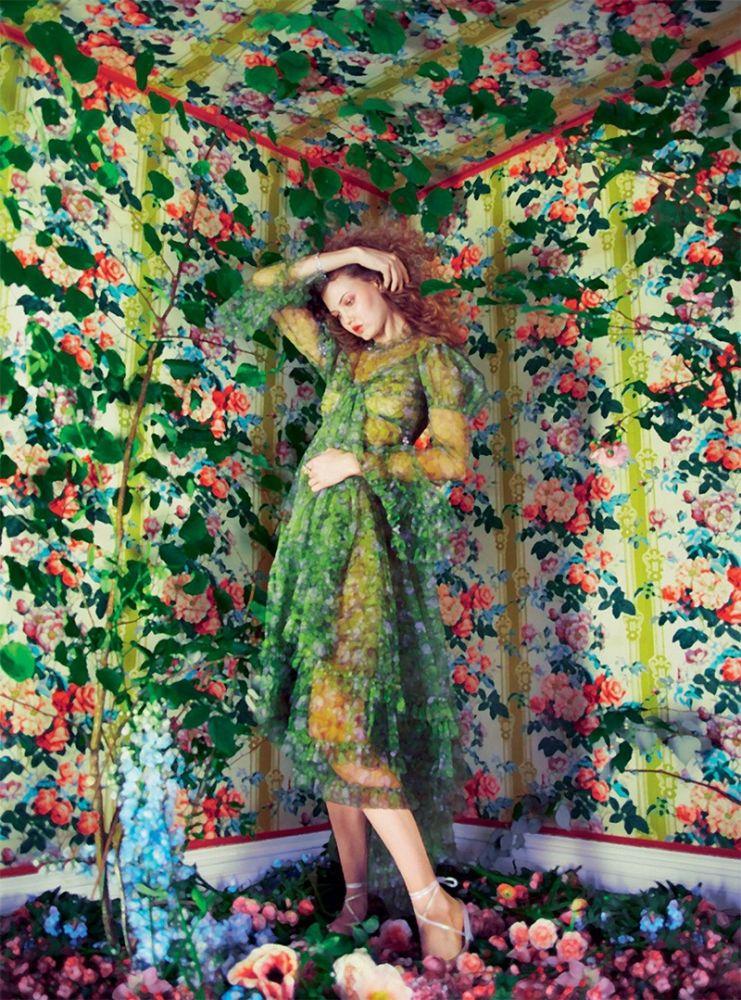 Lindsey Wixson Harpers Bazaar 5