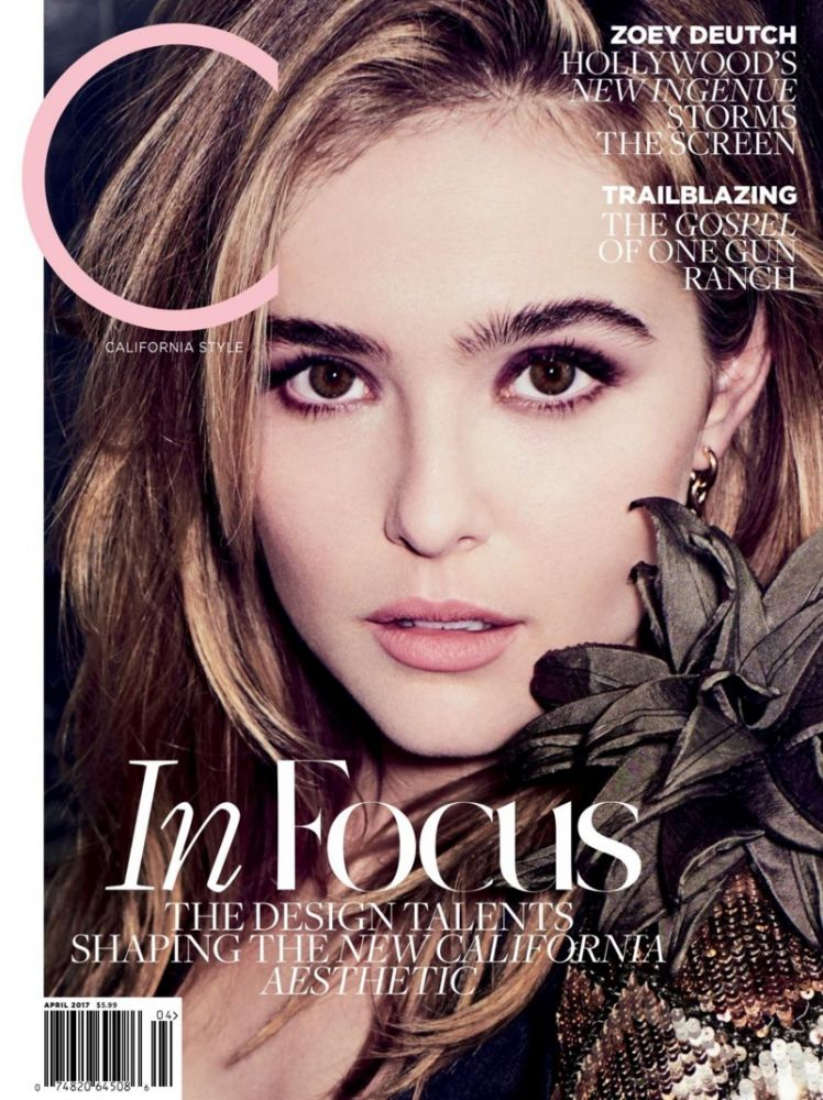 Zoey Deutch C Magazine 1