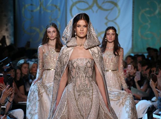 Картинки по запросу модные шедевры от Эли Сааб