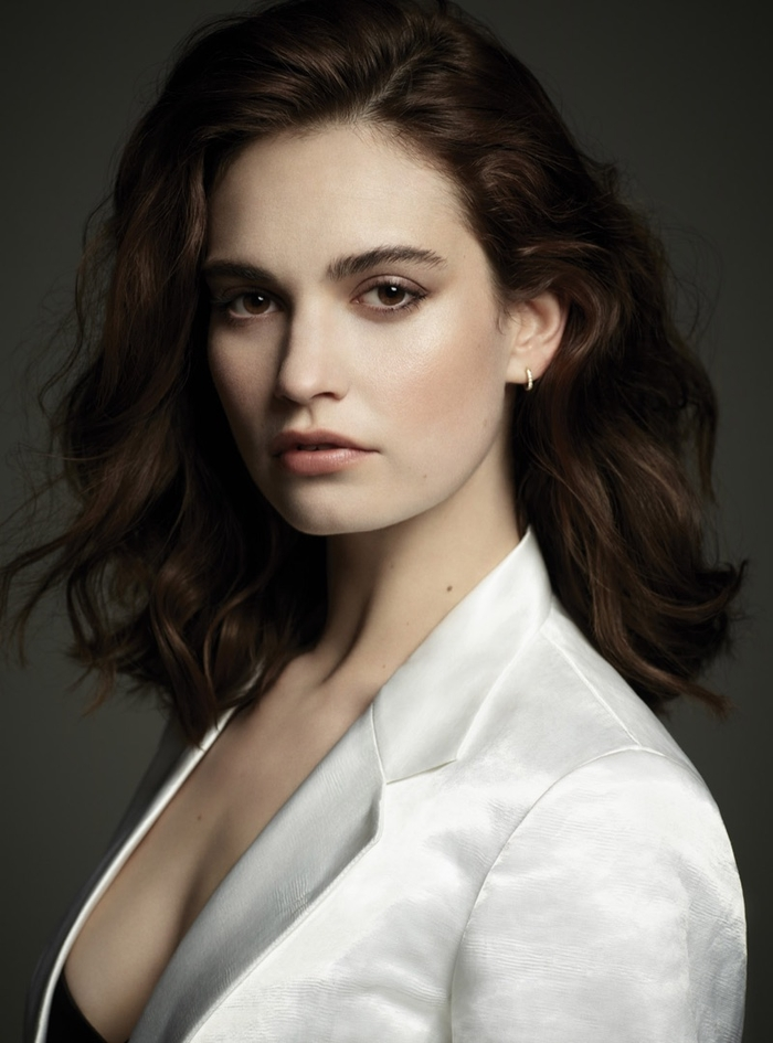 lily james dujour 6