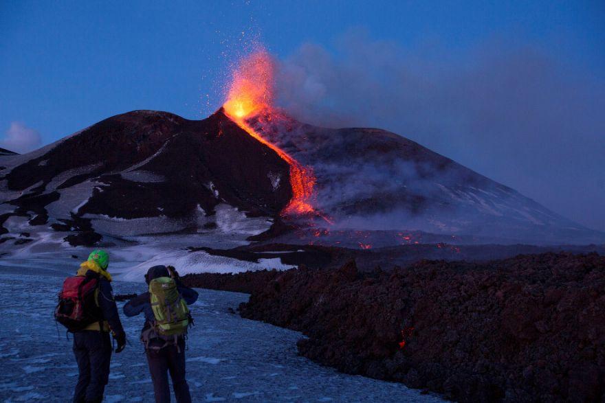 izverzhenie vulkana etna 3