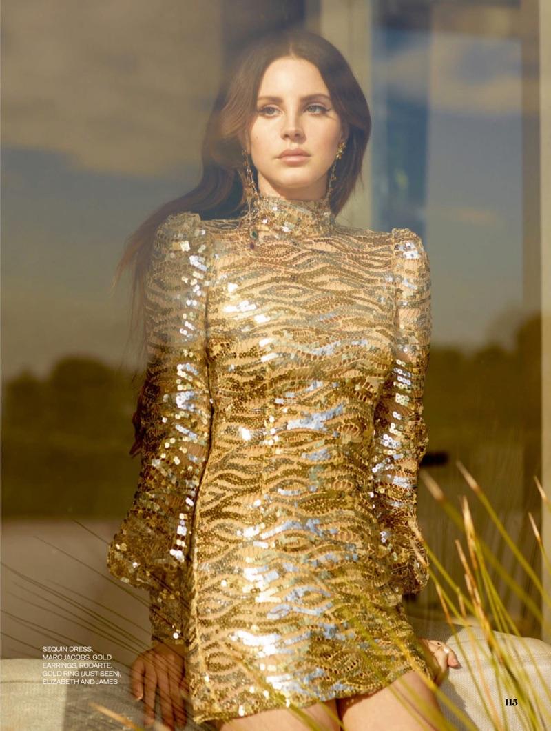 Lana Del Rey ELLE UK 2