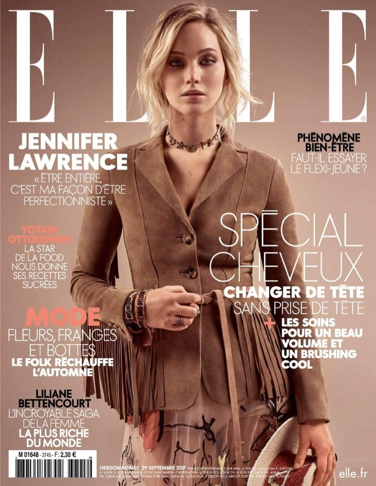jennifer lawrence dior elle france 1
